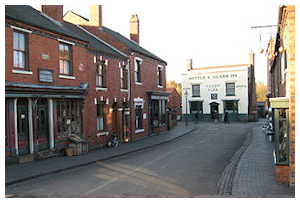Black Country Living Museum - Victorian Street