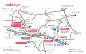 Ironbridge Gorge Museums Map